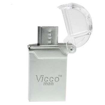 فلش مموری OTG ویکومن مدل VC125 ظرفیت 32 گیگابایت