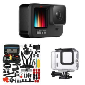 دوربین فیلم برداری ورزشی گوپرو مدل HERO 9 Black به همراه لوازم جانبی پلوز