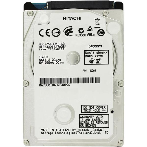 هارددیسک اینترنال هیتاچی مدل Z5K320-160 ظرفیت 160 گیگابایت
