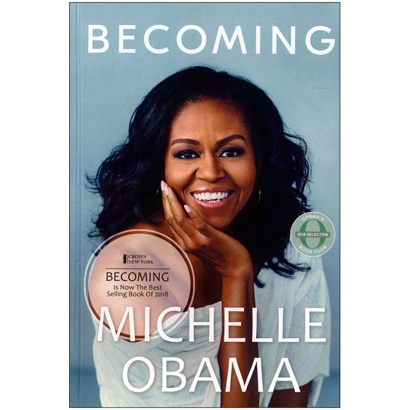 کتاب BECOMING اثر MICHELLE OBAMA انتشارات زبان مهر