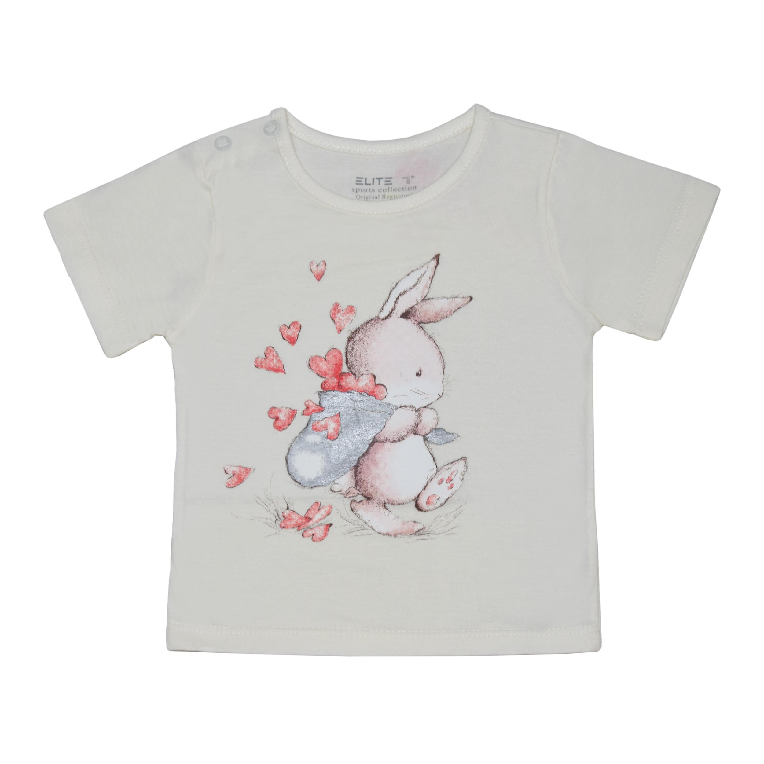 تی شرت دخترانه الیت مدل 2-635