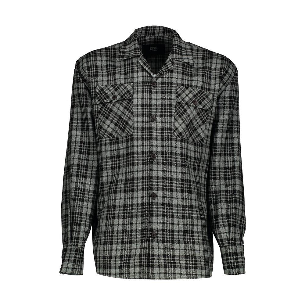 پیراهن مردانه گری مدل GW19