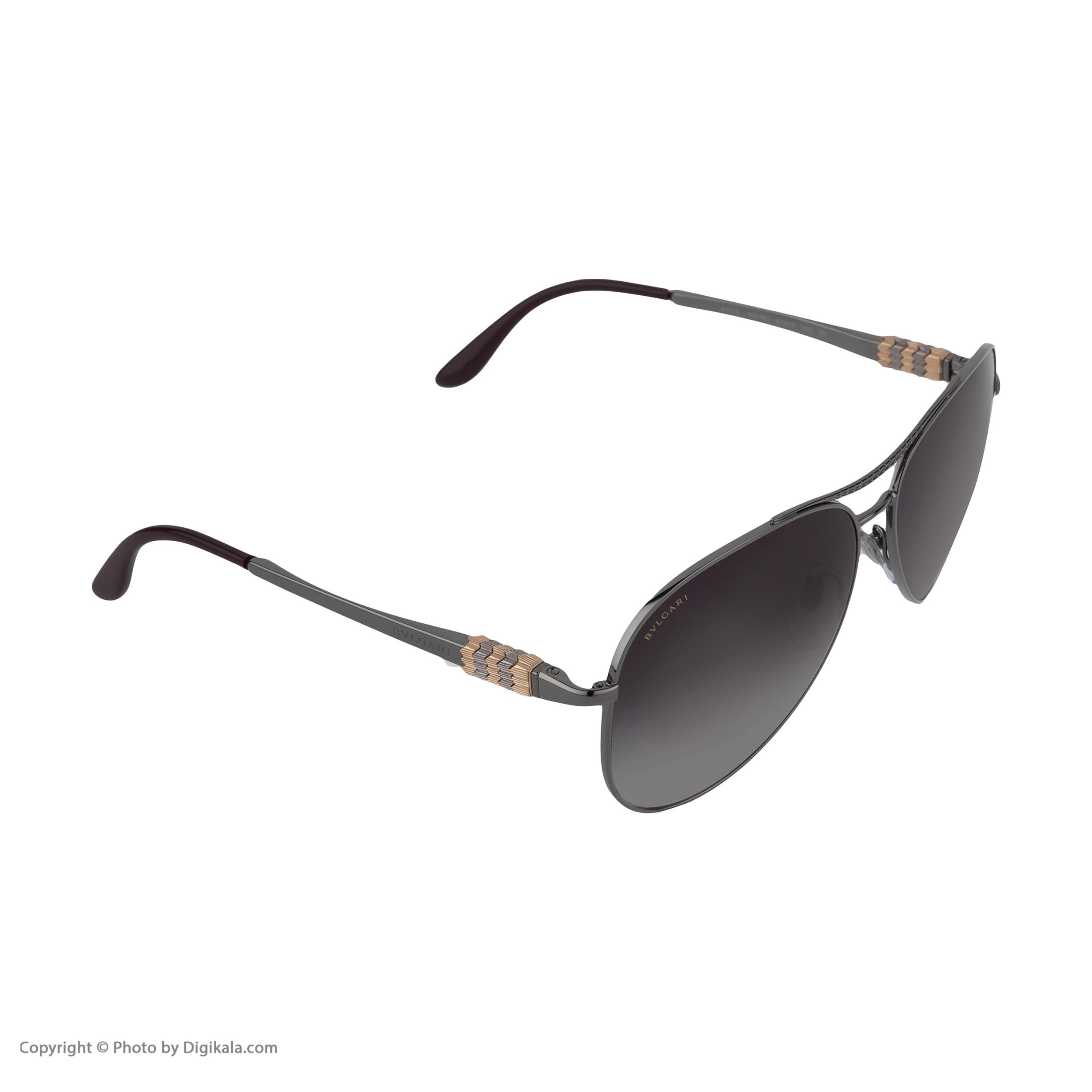 عینک آفتابی زنانه بولگاری مدل BV6075S 01038G -  - 7