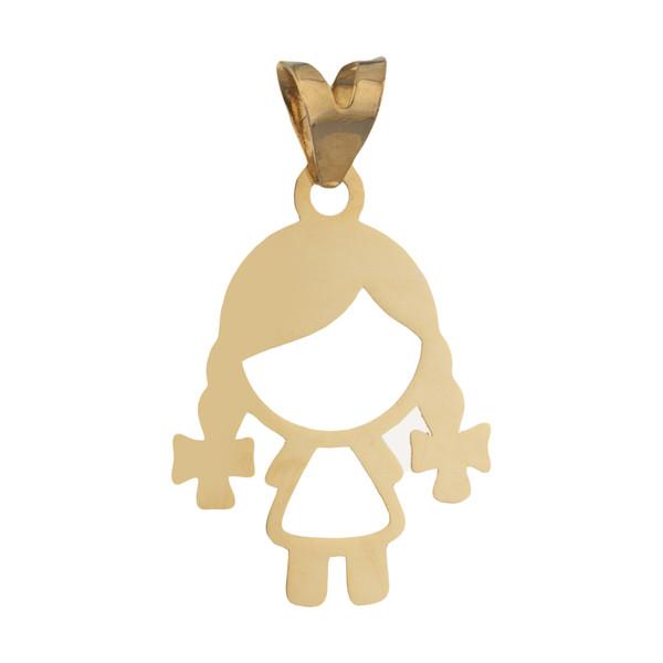 آویز گردنبند طلا 18 عیار زنانه مایا ماهک مدل MM1140