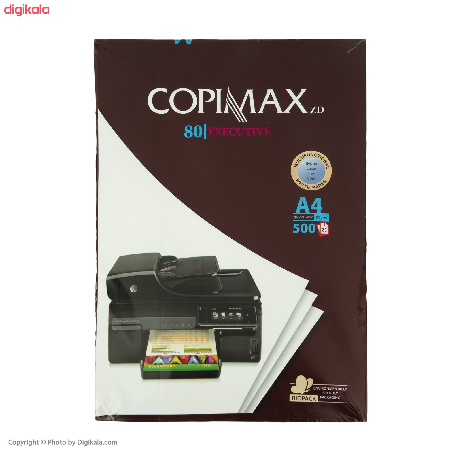 کاغذ کپی مکس سایز A4 بسته 500 عددی سایز 80 برگ main 1 5