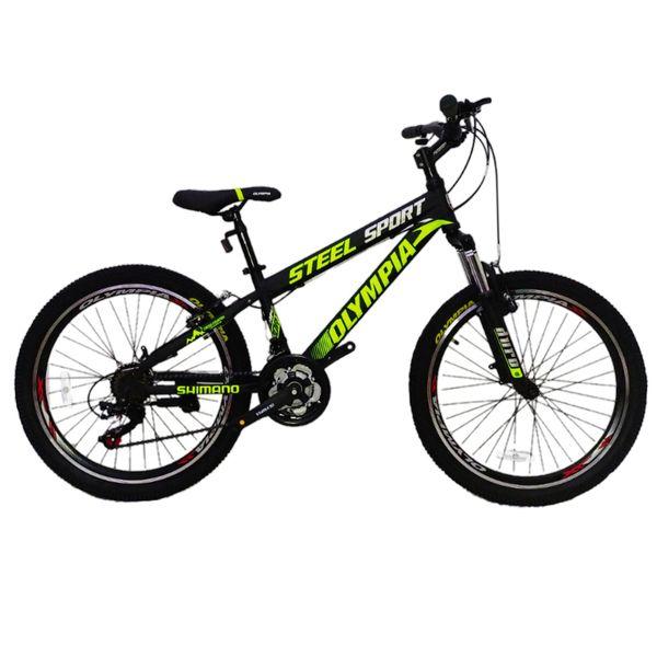 دوچرخه کوهستان المپیا مدل STEEL SPORT سایز 24
