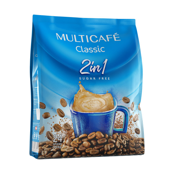 کافی میکس 1 × 2 مولتی کافه - 14 گرم بسته 24 عددی