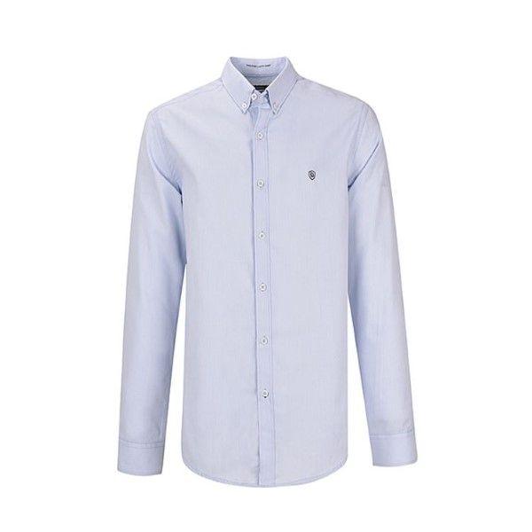 پیراهن آستین بلند مردانه بادی اسپینر مدل 1255 کد 1 رنگ آبی