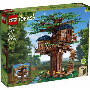 لگو مدل کیت ساختمانی خانه درختی