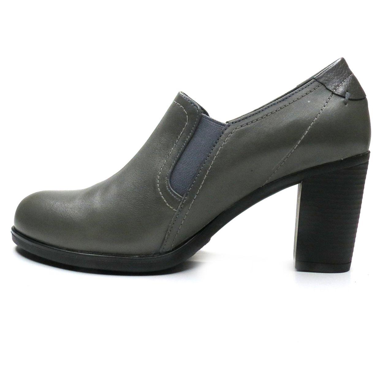 کفش زنانه آر اند دبلیو مدل 487 رنگ طوسی -  - 3