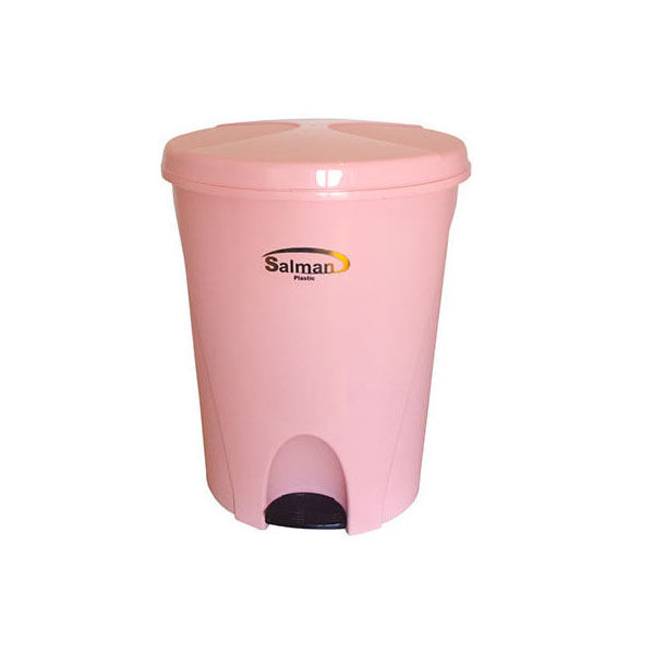 سطل زباله پدالی پلاستیک سلمان مدل   L340