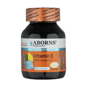قرص ویتامین ای آبورنز بسته 50 عددی