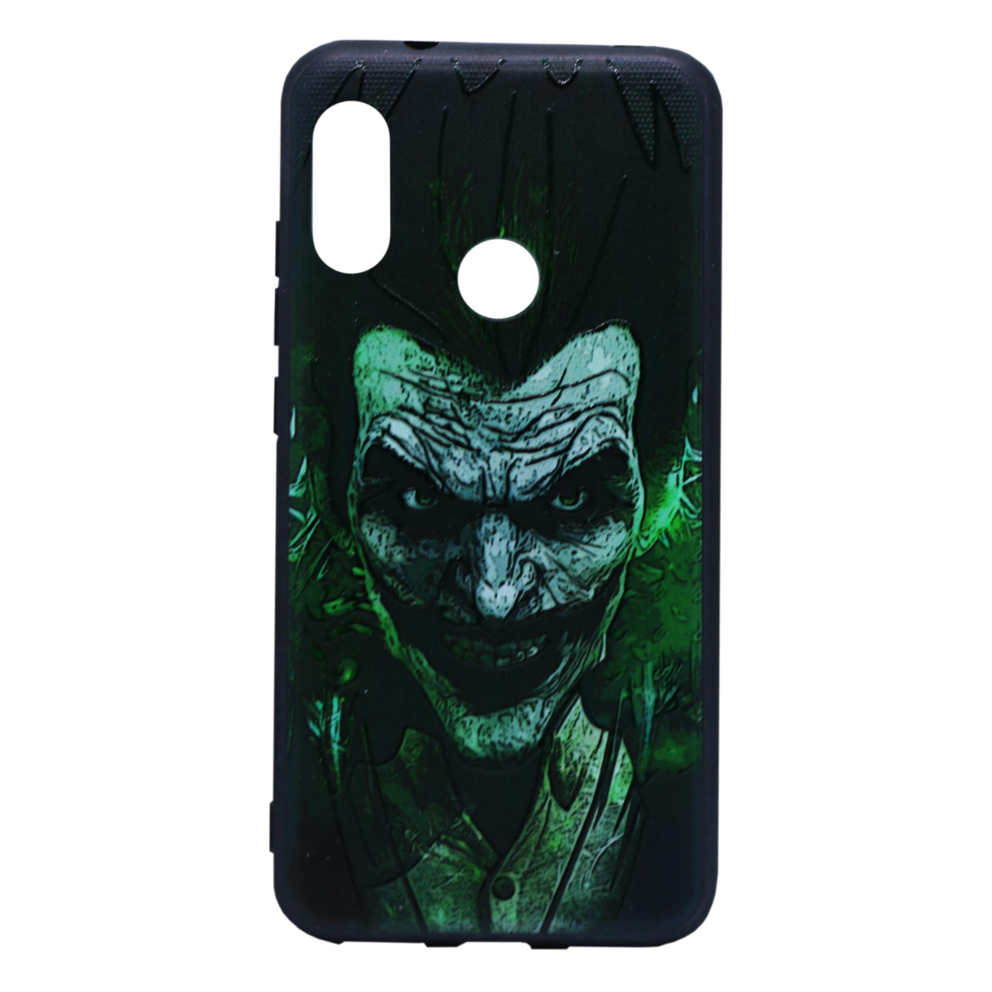 کاور طرح Green Man مدل Happy مناسب برای گوشی موبایل شیائومی A2Lite / Redmi 6Pro