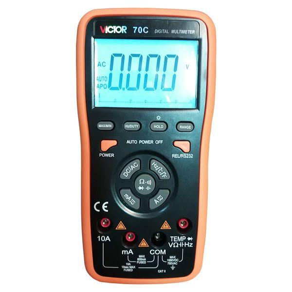 مولتی متر دیجیتال ویکتور مدل 70C