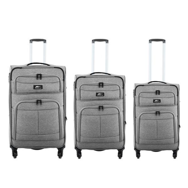 مجموعه سه عددی چمدان فیرو پلاس کد 624
