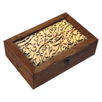 جعبه هدیه چوبی مدل EG06