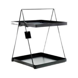 استند رومیزی تزیینی مدل دو طبقه لوکسینه