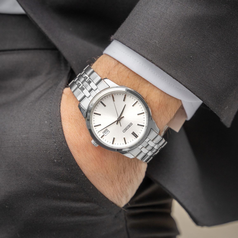 ساعت مچی عقربهای مردانه سیکو مدل SUR397P1
