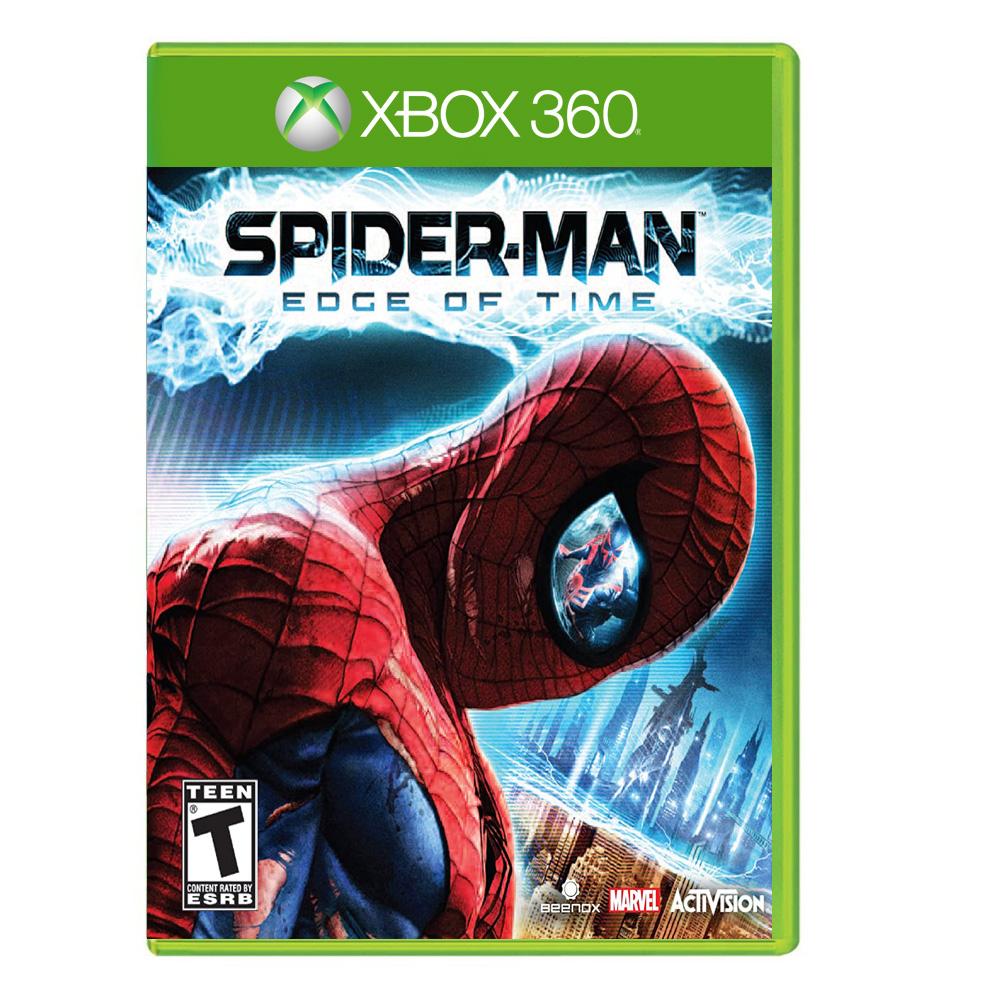 بررسی و {خرید با تخفیف} بازی Spider Man : EDGE OF TIME مخصوص XBOX 360 اصل