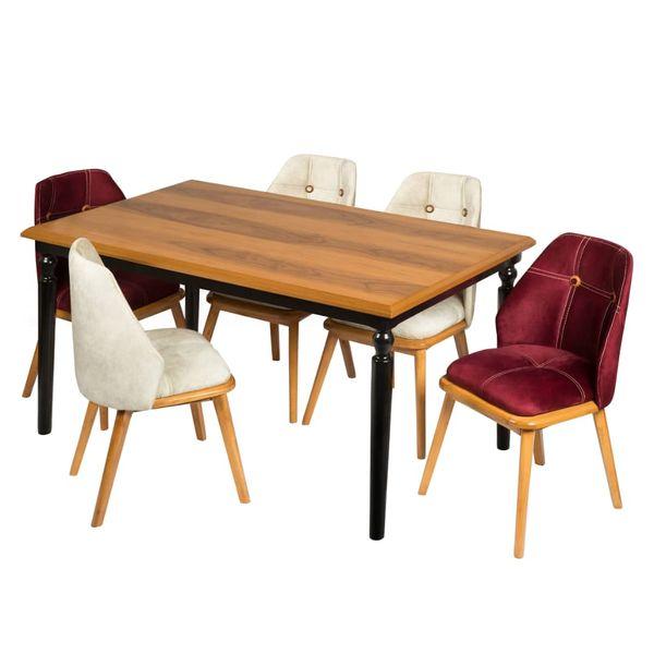 میز و صندلی ناهارخوری مدل آنیسا کد 9565