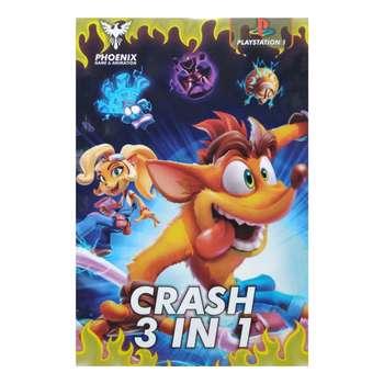 بازی کراش 3 در 1 مخصوص PS1