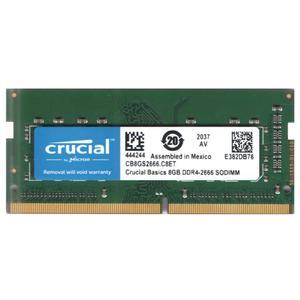 رم لپ تاپ DDR4 تک کاناله 2666 مگاهرتز CL19 کروشیال مدل 444244 ظرفیت 8 گیگابایت