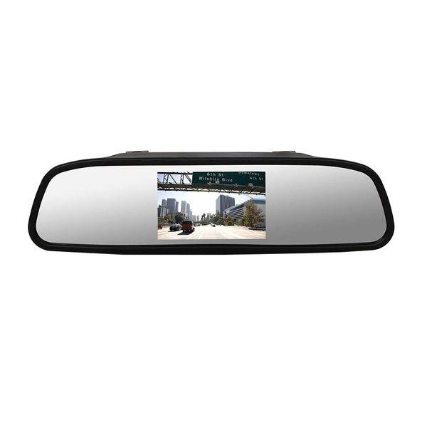 آینه مانیتور دار و دوربین دنده عقب خودرو هنزو مدل d51