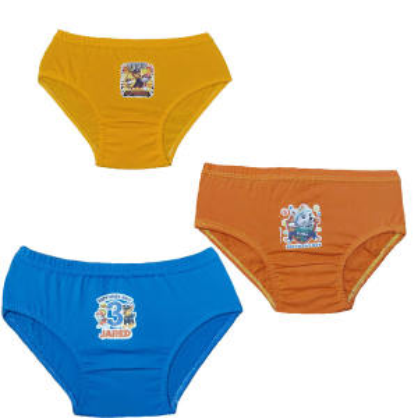 شورت پسرانه طرح سگ های نگهبان مجموعه 3 عددی