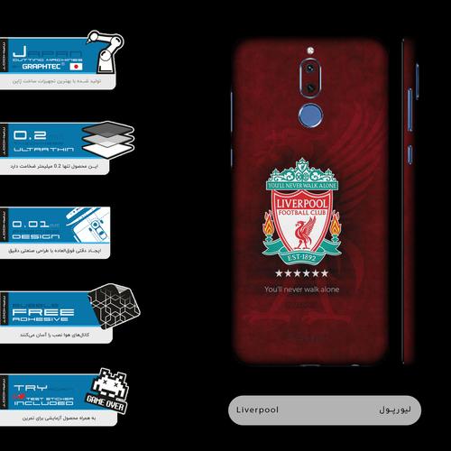 برچسب پوششی ماهوت مدل Liverpool-FC-FullSkin  مناسب برای گوشی موبایل هوآوی  Mate 10 Lite