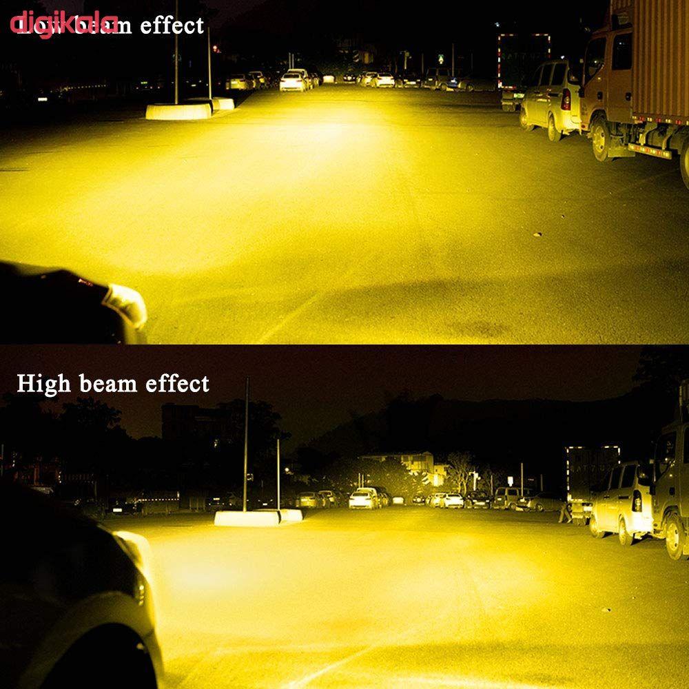 لامپ هالوژن خودرو لی تچ مدل daH1 بسته دو عددی main 1 2