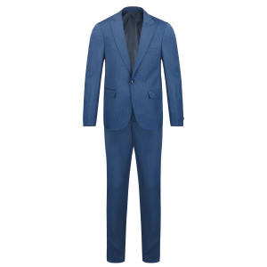 کت و شلوار مردانه مدل جودون کد JAR رنگ آبی روشن