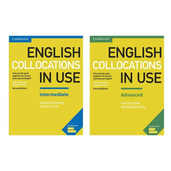 کتاب English collocation in use اثر M. McCarthy & F.ODell انتشارات کمبریج
