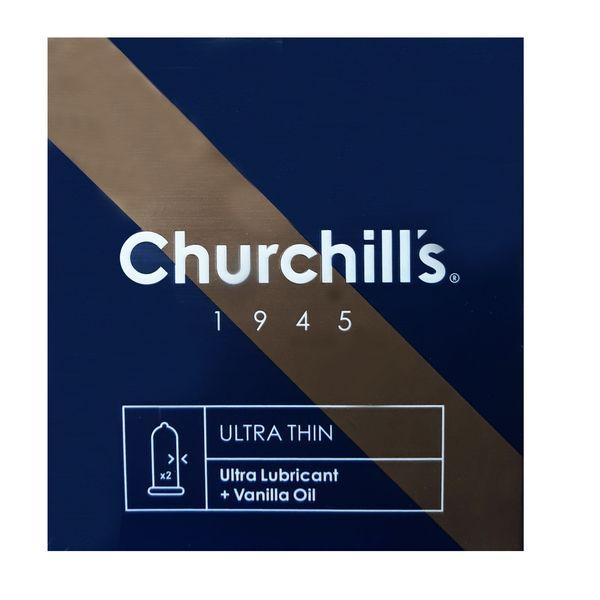 کاندوم چرچیلز مدل ULTRA THIN بسته 3 عددی