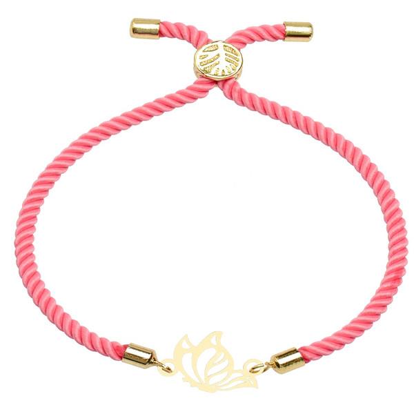 دستبند زنانه کرابو طرح پروانه مدل kb7-51