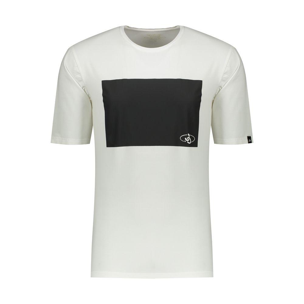 تی شرت مردانه پاتن جامه کد 99M5224 رنگ سفید