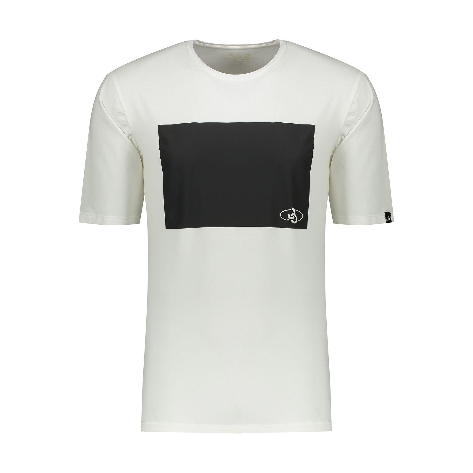 تی شرت مردانه پاتن جامه کد 99M5224 رنگ سفید -  - 2
