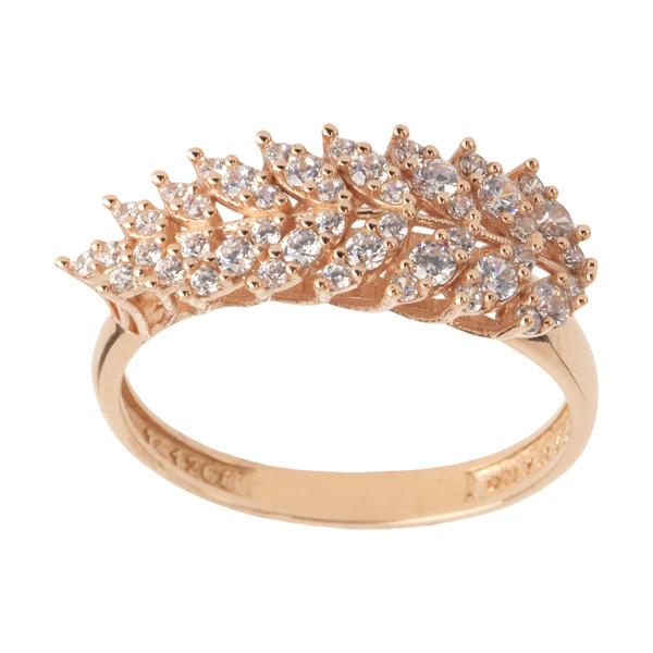 انگشتر طلا 18 عیار زنانه مایا ماهک مدل MR0360