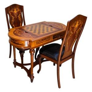 میز و صندلی شطرنج کد 2060