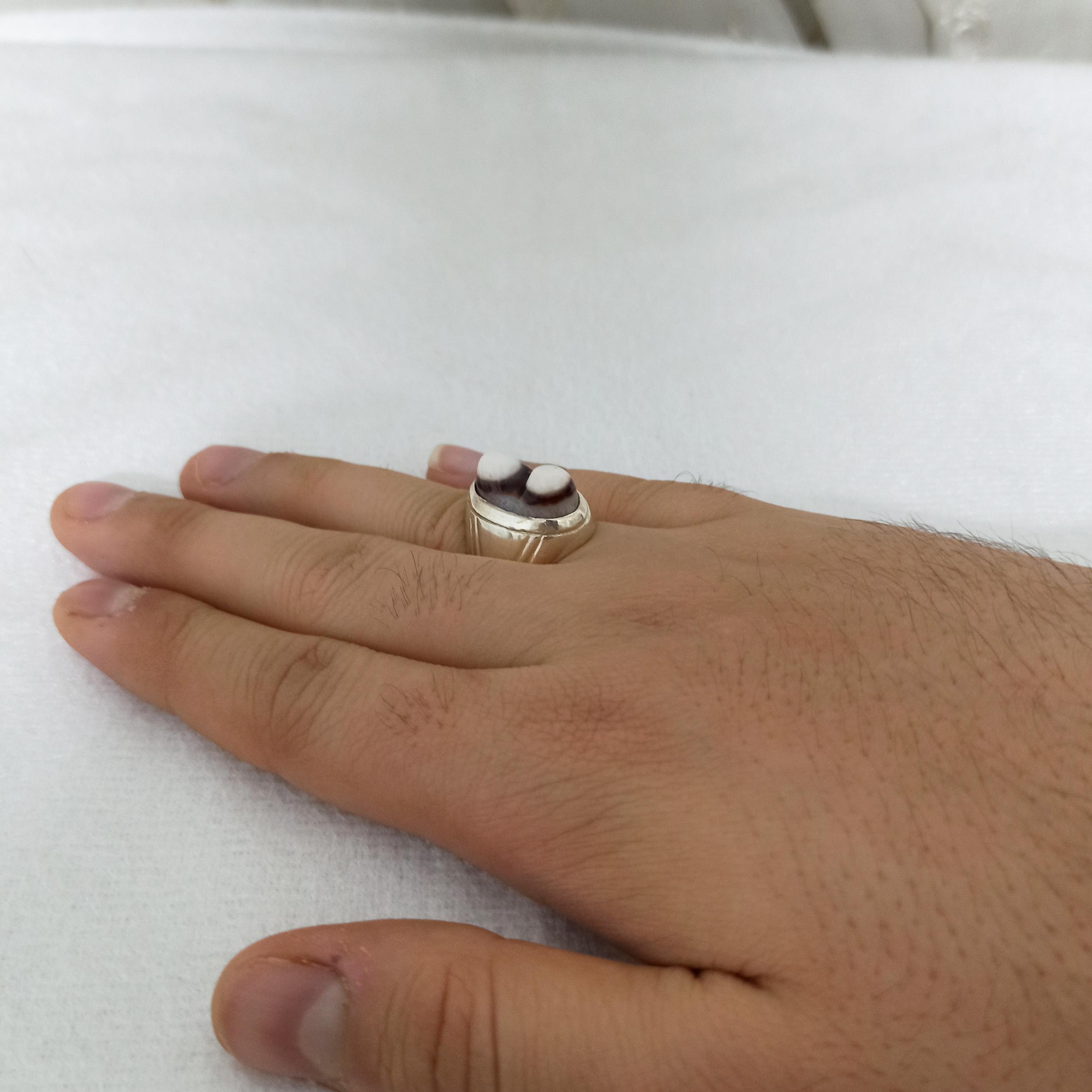 انگشتر نقره مردانه سلین کالا مدل ce-gh5