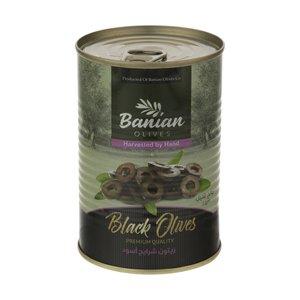 اسلایس زیتون سیاه بانیان - 480 گرم