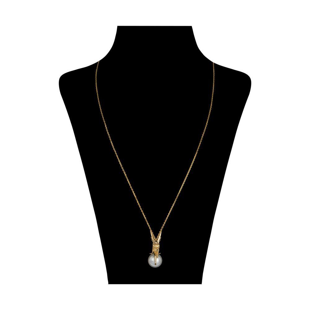 گردنبند طلا 18 عیار زنانه سیودو مدل 119559