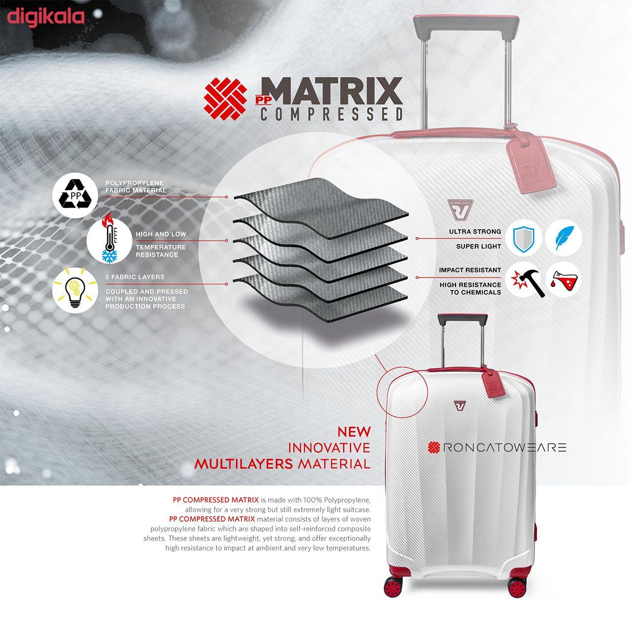 مجموعه سه عددی چمدان رونکاتو مدل 5950 main 1 8