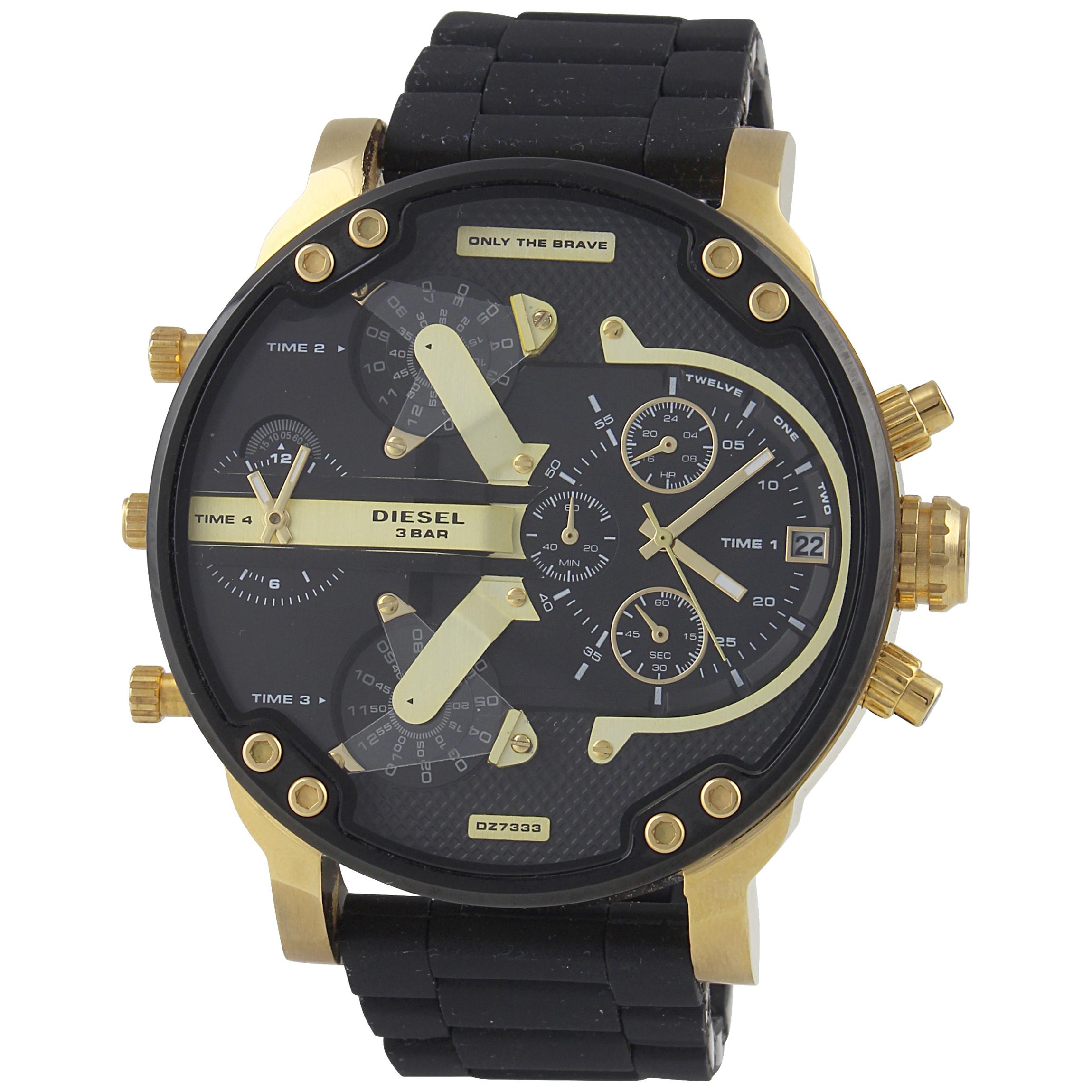 قیمت و خرید                      ساعت مچی عقربهای مردانه دیزل مدل DZ-7333