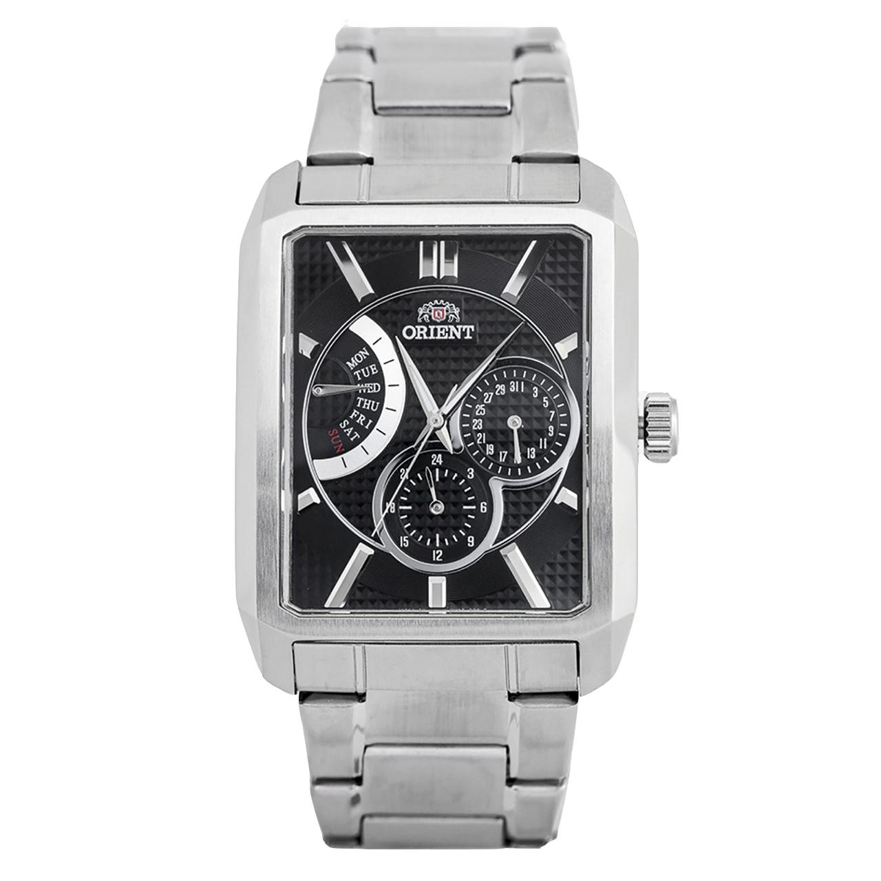 ساعت مچی عقربهای مردانه اورینت مدل SUUAC001B0