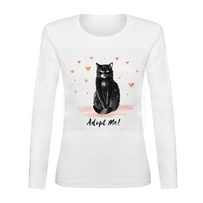 تی شرت آستین بلند زنانه کد TAB01-210