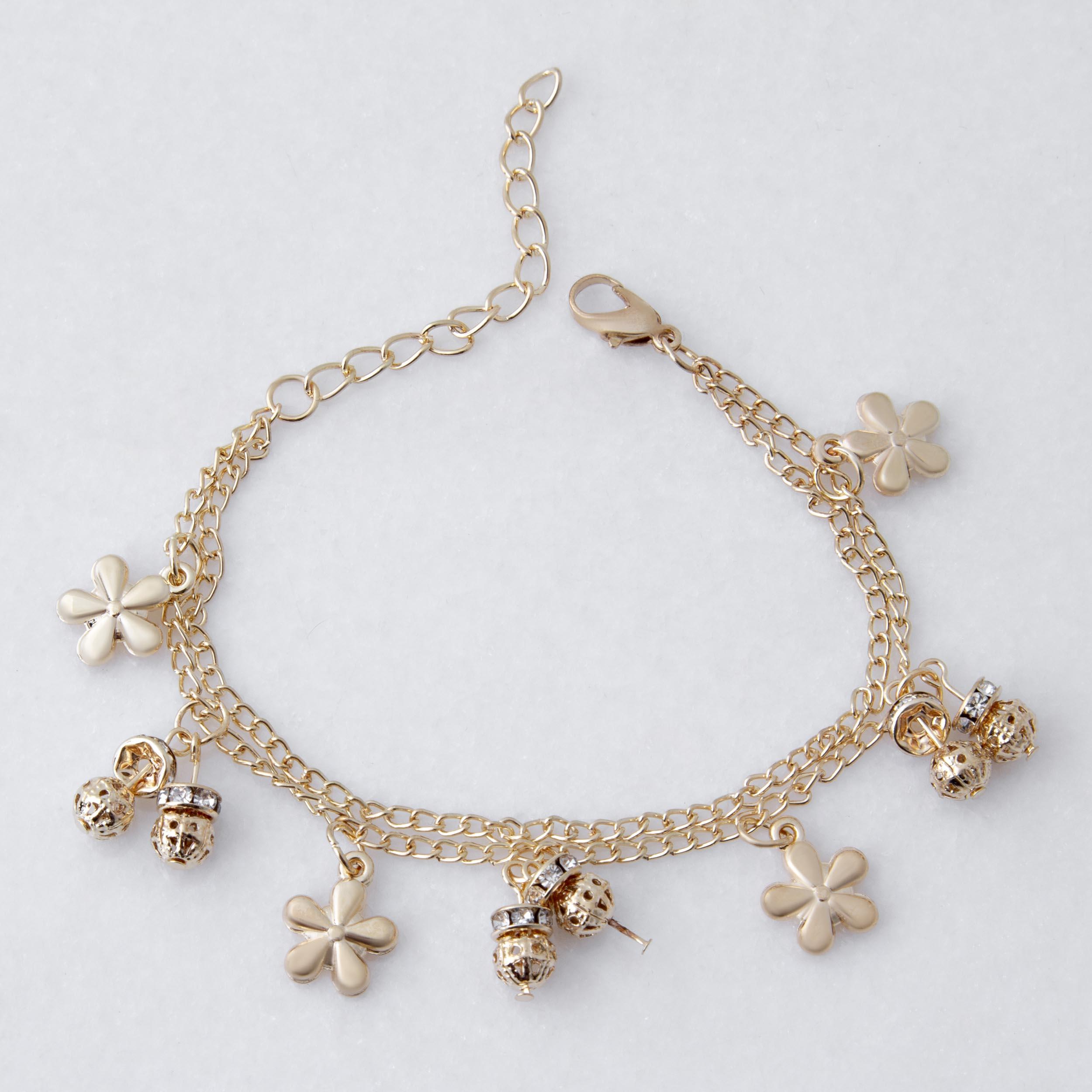 دستبند زنانه بازرگانی میلادی کد DP_169