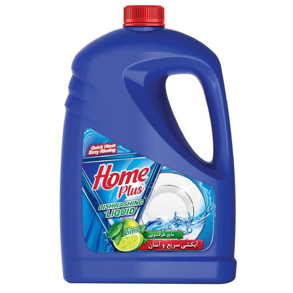 مایع ظرفشویی هوم پلاس مدل Lime مقدار 3.75 کیلوگرم
