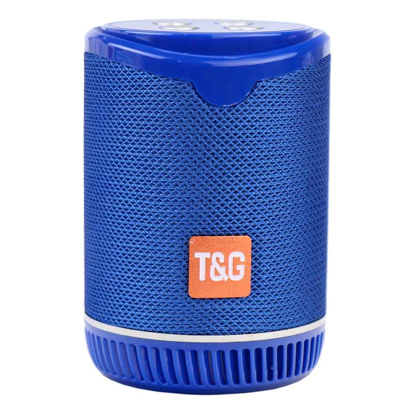 بررسی و {خرید با تخفیف}                                     اسپیکر بلوتوثی قابل حمل تی اند جی مدل TG528                             اصل