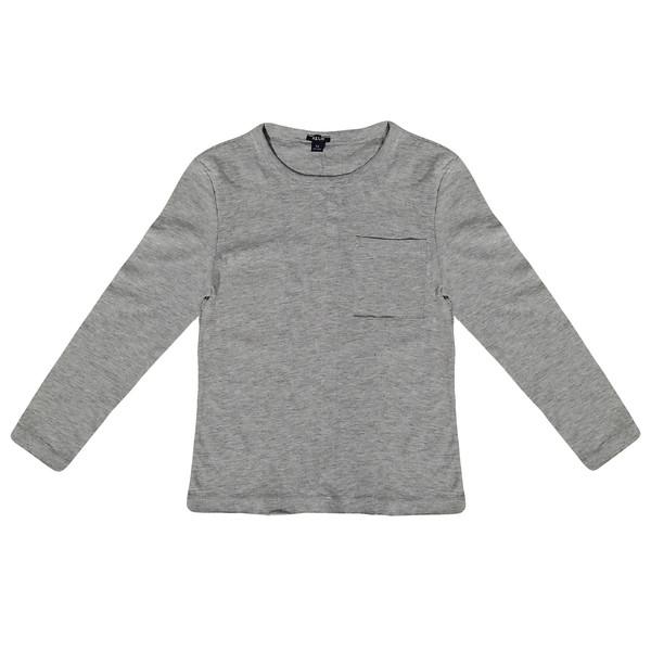 تی شرت آستین بلند پسرانه کیابی کد 10065-3