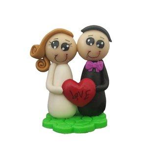استند تزئینی مدل عروس و داماد